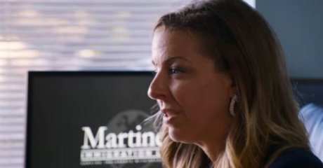 Immigration Lawyer, Andrea Martinez as heatured in the docuseries, Living Undocumented