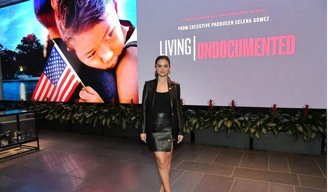 Selena Gomez, Producer of Living Undocumented.